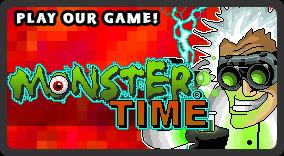 Play our retro Halloween game, Doc Mock's MonsterTime!